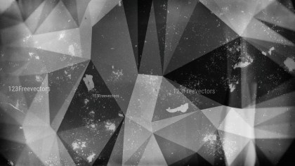 Cool Grey Distressed Polygon Triangle Background