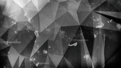 Cool Grey Distressed Polygon Background Image