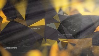 Cool Yellow Distressed Polygonal Background Image
