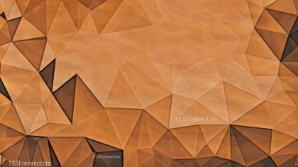 Copper Color Grunge Polygon Background