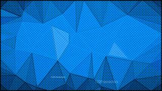 Dark Blue Grunge Polygon Triangle Background