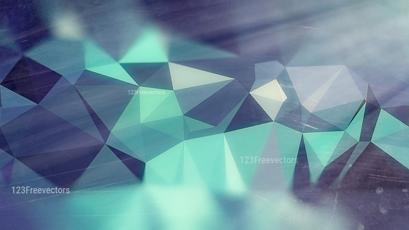 Dark Blue Distressed Low Poly Background