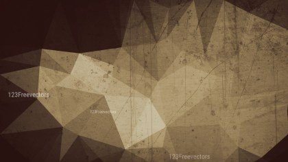 Dark Brown Grunge Polygon Pattern Background Design