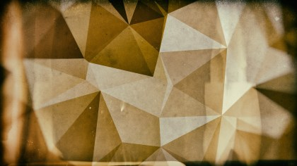 Dark Brown Grunge Polygon Pattern Background Image