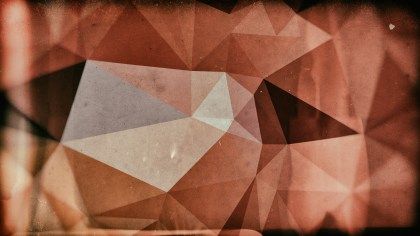 Dark Brown Distressed Low Poly Background Image