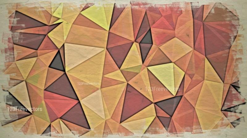 Dark Color Grunge Polygon Pattern Background Design
