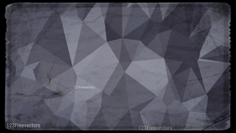 Dark Color Grunge Polygon Pattern Background