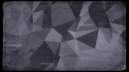 Dark Color Grunge Polygonal Background