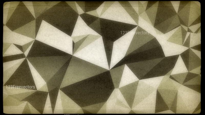 Dark Color Distressed Polygon Pattern Background