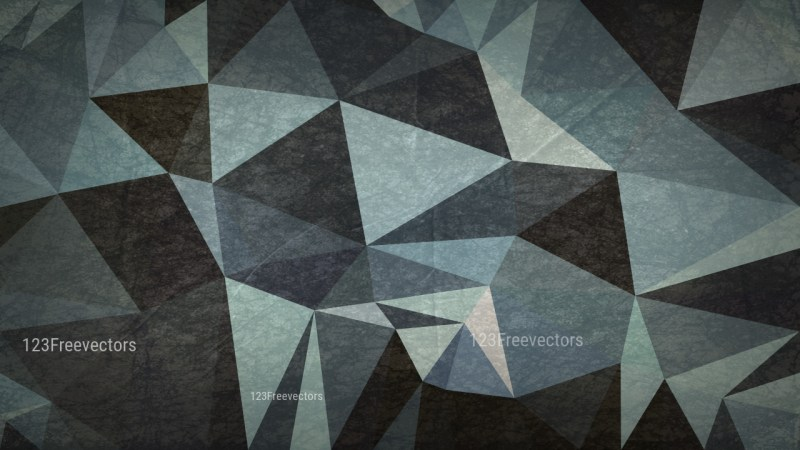 Dark Color Grunge Polygon Pattern Abstract Background