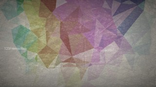 Dark Color Grunge Low Poly Abstract Background