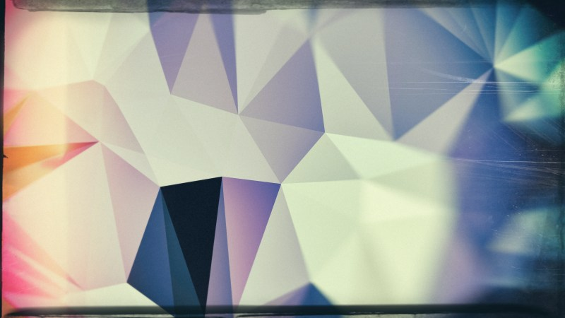 Dark Color Grunge Polygon Abstract Background Image