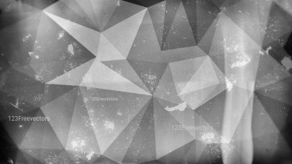 Dark Grey Grunge Polygon Triangle Background Image