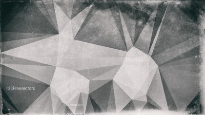 Dark Grey Grunge Polygon Background