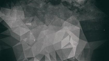 Dark Grey Grunge Low Poly Background Design