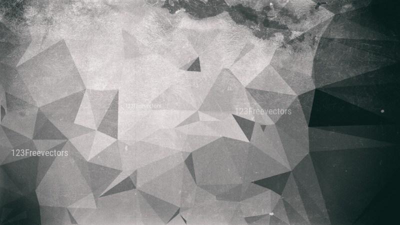 Dark Grey Distressed Low Poly Background