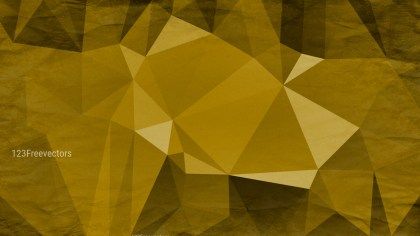 Gold Distressed Low Poly Background Image