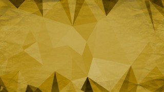 Gold Grunge Polygon Background