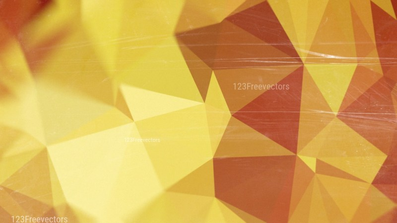 Gold Red and Brown Distressed Low Poly Background