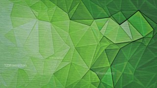 Green Distressed Polygonal Background Image