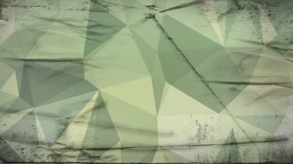 Green and Beige Grunge Polygon Background
