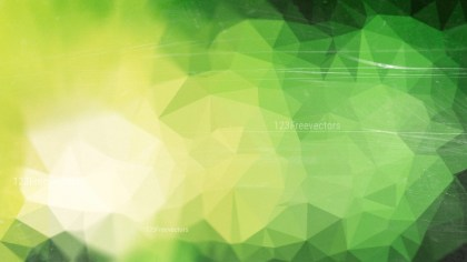 Green and Beige Distressed Polygon Triangle Background