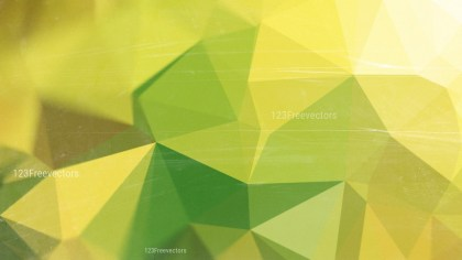 Green and Gold Distressed Polygon Background