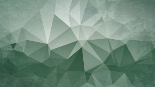 Green and Grey Distressed Low Poly Background
