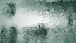 Green and Grey Grunge Polygon Pattern Background