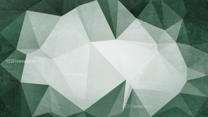Green and Grey Grunge Polygon Triangle Background