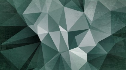 Green and Grey Grunge Polygon Triangle Background Design