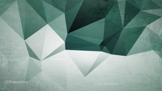 Green and Grey Distressed Polygon Pattern Background