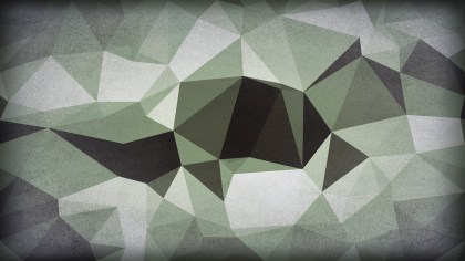 Green and Grey Distressed Polygonal Background Image