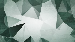 Green and White Distressed Polygon Background Image