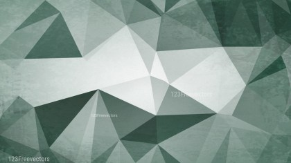 Green and White Distressed Polygon Triangle Background Image