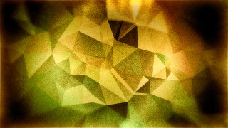 Green Brown and Black Grunge Low Poly Background Design
