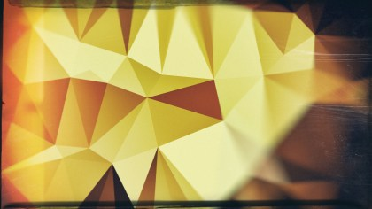 Green Brown and Black Grunge Polygonal Abstract Background Image