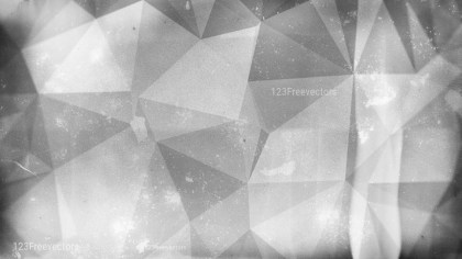 Grey Grunge Polygonal Background Design
