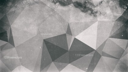 Grey Grunge Polygonal Background