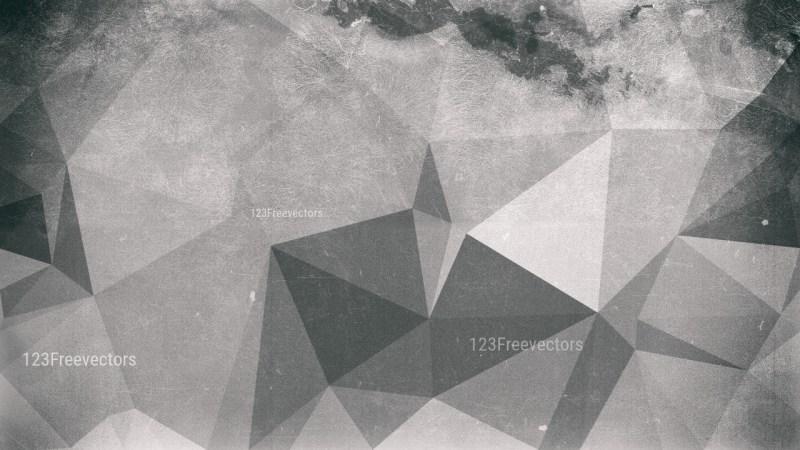 Grey Grunge Polygonal Background