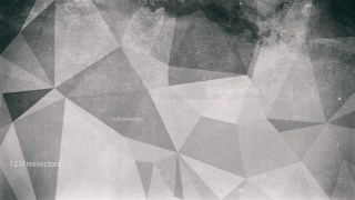Grey Grunge Polygon Background Image