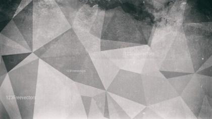 Grey Grunge Polygon Background Image