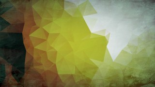 Grey Brown and Green Grunge Polygon Pattern Background Image