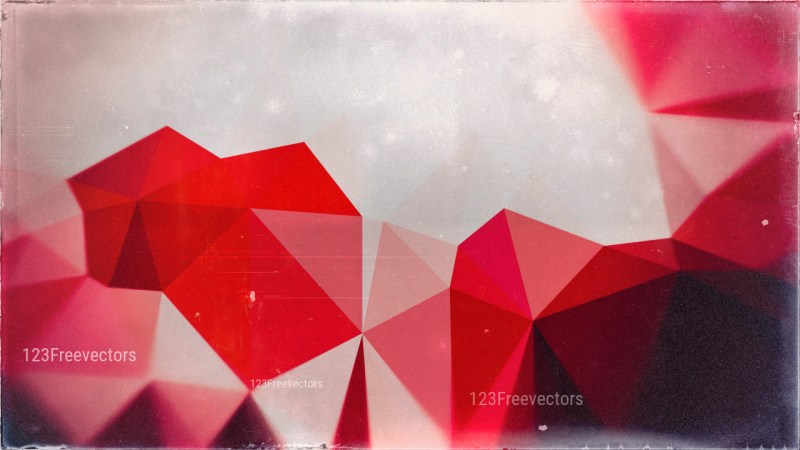 Grey Pink and Black Grunge Low Poly Background Design