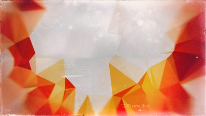 Grey Red and Orange Distressed Polygon Triangle Background