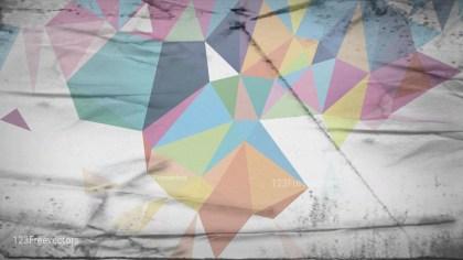 Light Color Grunge Geometric Polygon Background Image