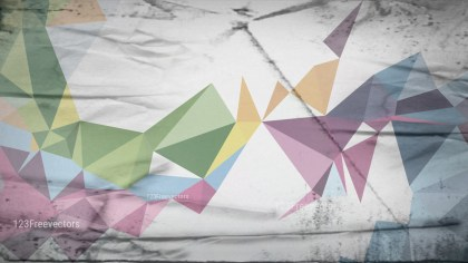 Light Color Grunge Polygon Triangle Pattern Background Graphic