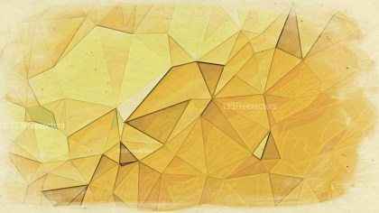 Light Orange Grunge Polygonal Background Graphic