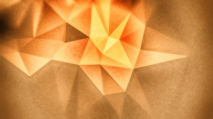 Orange and Brown Distressed Polygon Triangle Background
