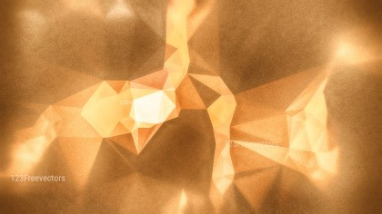 Orange and Brown Grunge Polygon Background Design